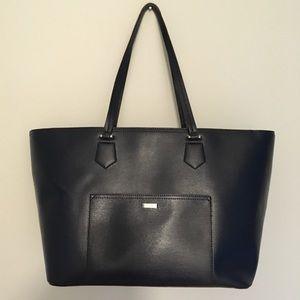 Lauren Ralph Lauren Navy Large Shoulder Bag